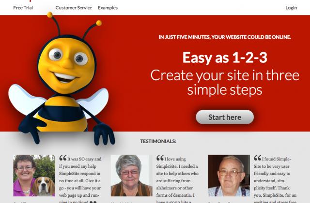 SimpleSite reveals com...