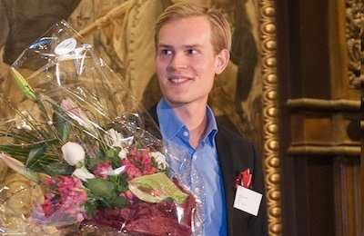 Jacob Lönroth young entrepreneur of the year 2014